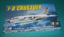 F-8 Crusader Fighter Revell 1/48 Factory Sealed.