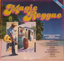Magic Reggae, Great Songs and Artists, The best of caribbean , VG+/EX  LP (6748)