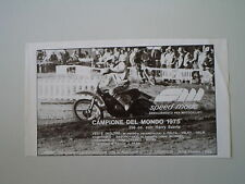 advertising Pubblicità 1975 SPEED MODE e HARRY EVERTS