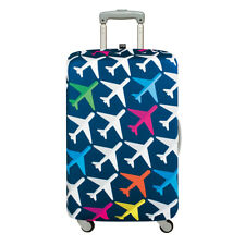 LOQI: Luggage Cover Airport Collection - Medium Airplane
