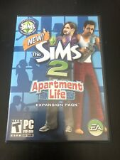 The Sims 2: Apartment Life Expansion Pack, (2008, PC)
