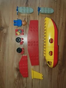 Lego Duplo Aeroplane Vintage