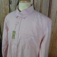 J. Crew Men's Shirt XL NEW Oxford Slim Fit Long Sleeve Button Down Blush Pink