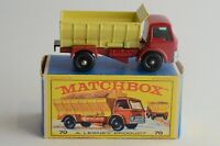 Matchbox Lesney No 70 Grit-Spreading Truck - Made In England - Boxed - (B16)