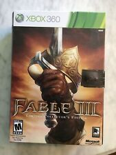 Fable III 3 -- Limited Collector's Edition Xbox 360 BRAND NEW and SEALED