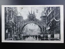 Birmingham ROYAL VISIT King Edward Vll - CYCLE TRADE ARCH c1909