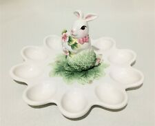 New listing Corner Ruby Spring Collection Ceramic Deviled Egg Tray