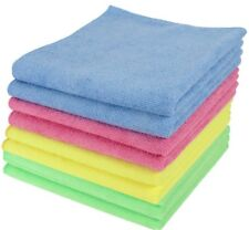 Large Microfibre Cleaning Cloths Car Bathroom Polish Towels Microfiber 40x40cm