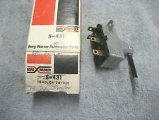 NORS New Borg Warner S431 Headlight Switch AMC 1971 1972 1973 1974 Javelin AMX