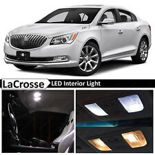 15x White Interior LED Lights Package for 2010-2016 Buick LaCrosse