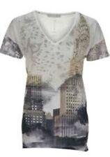 Oui Cityscape Short Sleeve T-Shirt Size 36 UK 10 rrp £85 DH096 ii 03
