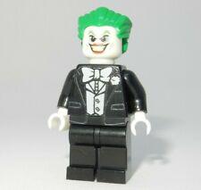 **NEW** Custom Printed - JOKER BLACK TUX - DC Universe Batman Block Minifigure
