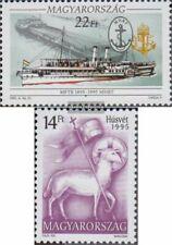 Hongarije 4326,4332 (compleet Kwestie) postfris MNH 1995 Navigatie, Pasen