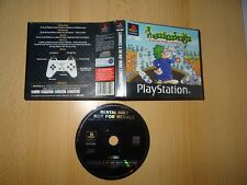 Lemmings & Oh No More lemmings PlayStation 1 Uk Pal Blockbuster Ex Rental Ps1