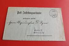 *Brief/Beleg* Dienstbrief Stettin nach Breslau 1910 (1)