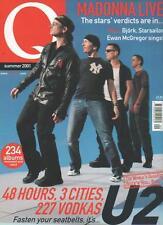 Q MAGAZINE Summer 2001 U2 AL