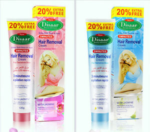 DISAAR Hair Removal Inhibitor Depilatory Cream Best Permanent Speedy Stop 120g