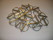 "20 Piece GOLIATH INDUSTRIAL TOOL 5/16"" Lynch Pins Zich Plated"