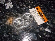 RC HPI Racing Wheels 26 mm With 1 mm Offset (2) Gray Super Star Hex 3698