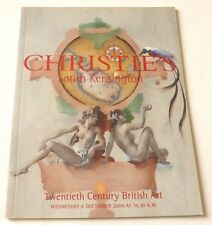 Christies - 20th Century British art 2000 AUCTION CATALOGUE Roger Hilton, etc