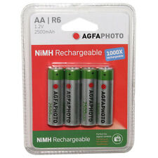 NiMH Rechargeable 2500mAh Batteries (4 Pack) APAA4