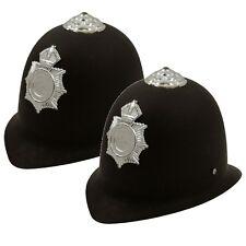 2 x CHILDRENS KIDS POLICE POLICEMAN HELMET HAT BOYS GIRLS FANCY DRESS H02 275