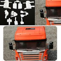 1/14 Tractor Rearview Exterior Mirror Kit For Tamiya Scania R620 R470 RC Truck