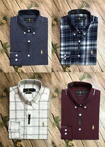Men's Full Sleeve Ralph Lauren Slim Fit Formal Shirt ; Size S-2XL
