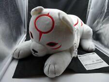 "OKAMIDEN CHIBITERASU white Wolf Puppy Keychain 4"" Plush Capcom Promo Sealed Bag"
