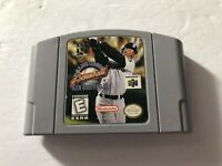 Major League Baseball Featuring Ken Griffey Jr. Nintendo 64 N64 Cartridge TESTED