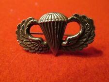 Paratrooper Jump wing NS Meyer US Army pin back !!  # 4136