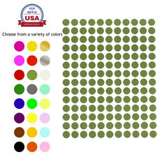 Color Coding Labels 38 Inch Dot Stickers Rounds Colored 0375 Inch Circle