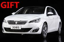 Car Model Peugeot 308S 1:18 (White) + SMALL GIFT!!!!!!!!!!!