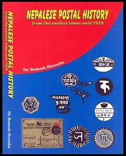 C35 Nepal Postal History Book Literature Published 2009. Unused. Rare.