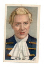 Nelson Eddy 1948 Kwatta Film Stars Series B Belgium Chocolate Card #212