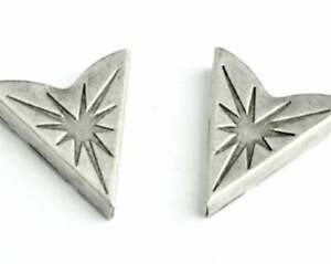 Beautiful Gorgeous Preacher Men's Fine Collar Tips IN Solid 925 Sterling Silver