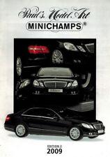 Minichamps PMA Model 2009 New Models Range Catalogue A4 Ed. 2 - Colour 21 Pages
