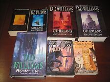 Tad Williams lot Otherland complete+Tailchaser's Song+Shadowrise+...Ancient City