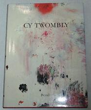 Art Monograph CY TWOMBLY Prestel Verlag 1987 Paintings Sculpture  1st Edition