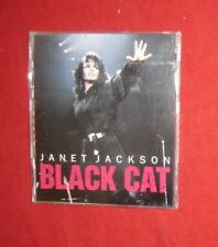 Janet Jackson ~ Black Cat 1989 Us 9 track Promo Cd Rock & Funky Mixes
