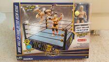 Mattel WWE Hall of Fame Retro WCW Ring Includes DUSTY RHODES Figure NIB.