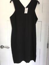 Brand New Next shift dress black size 14 petite
