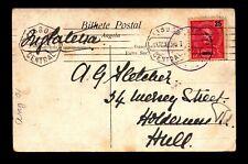 Angola 1910 Photo Post Card to UK - L11066