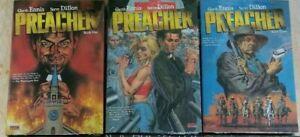 Preacher Deluxe Hardcovers vols 1,2,3 Set New/Sealed Garth Ennis & Steve Dillon