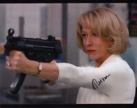 Helen Mirren (Red) signed 11x14 photo