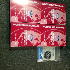 2011 Ford TRUCK Diesel F-250 F-350 F450 550 Service Shop Repair Manual Set NEW