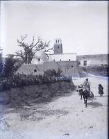 MAGHREB Maroc Algérie Tunisie c1900 NEGATIF Photo Stereo Plaque Verre VR10L10n22