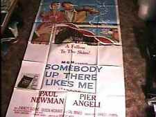SOMEBODY UP THERE LIKES ME 41X81 3SH POSTER '56 BOXING