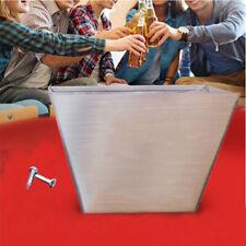 Wall Mount Bar Beer Bottle Opener Cap Catcher Stainless Steel Box Storage Screws