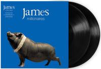 "James : Millionaires Vinyl 12"" Album 2 discs (2017) ***NEW*** Quality guaranteed"